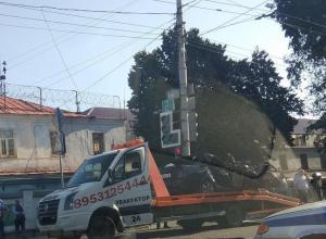 В сети появилось видео смертельного ДТП на Мичуринской