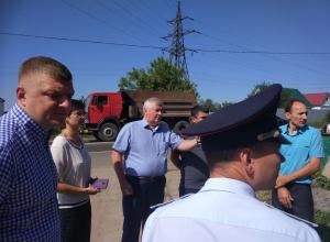 Проблемные перекрёстки села Покрово-Пригородное обезопасят к 1 сентября