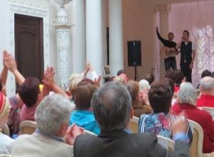 Родион Газманов дал благотворительный концерт в Тамбове