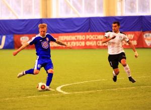 «Тамбов» в стыковых матчах ФНЛ благодаря дублю Игнатовича