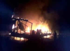 В Радужном дотла сгорел дом
