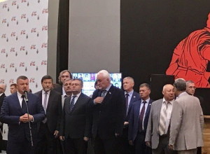 Александр Никитин и ветераны Великой Отечественной войны открыли мультимедийную выставку