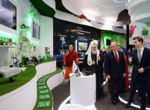 Президент России заинтересовался стендами МичГАУ на федеральной выставке