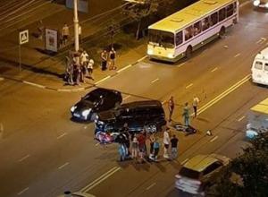 Смертью мотоциклиста закончилось ночное ДТП в Тамбове