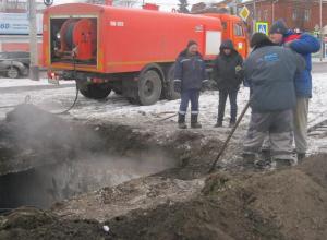 На Гастелло потекла канализация из неучтенного коллектора