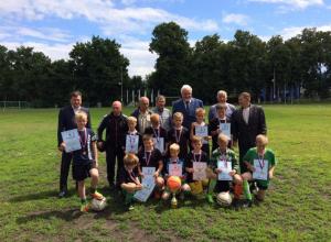 «Кожаный мяч» выиграли юные моршанские футболисты
