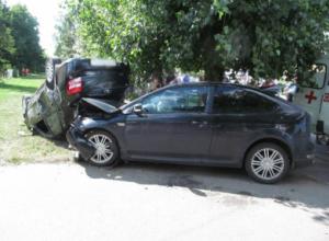 Жесткая авария с четырьмя пострадавшими, среди которых ребенок, произошла в Котовске