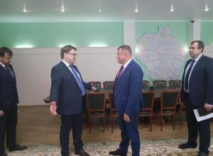 Гендиректор ПАО «Квадра» встретился с губернатором Никитиным