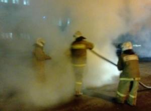 В Донском сгорел «Volkswagen Touareg». Машины на Тамбовщине стали гореть чаще