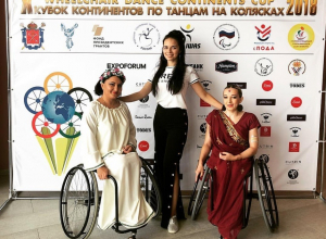 В топ-10 Кубка Континентов по танцам на колясках вошли тамбовские танцоры