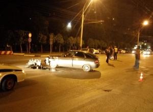 В аварии с «Приорой» на севере Тамбова погибла пассажирка мотоцикла «Suzuki»