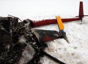 В разбившемся под Кирсановом вертолете погиб топ-менеджер компании «Сталь-М»