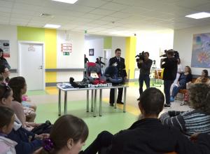 «Скажем безопасности «да!» — в перинатальном центре Марфы Тамбовской провели первую встречу в рамках акции #безДТП