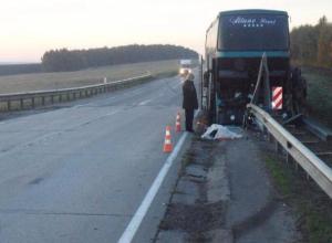В аварии с пассажирским автобусом погиб тамбовчанин
