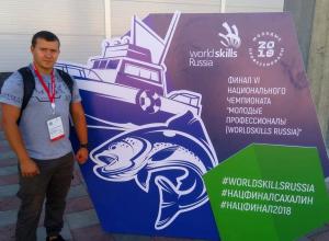Тамбовский студент Максим Малицкий победил в финале VI Национального чемпионата WorldSkills Russia
