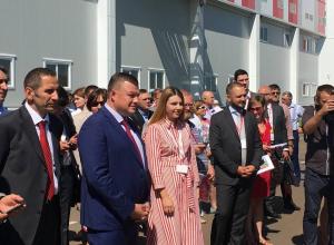 Губернатор открыл Центр распределения мяса АШАН Россия в Стрельцах