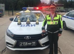 «Полицейский разворот» и «габаритная восьмерка» принесли победу инспектору ВАИ из Тамбова