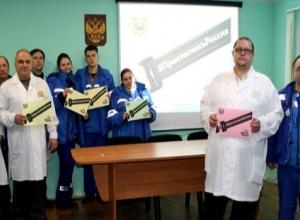 Медики Тамбова «пристегнулись» в рамках всероссийской акции