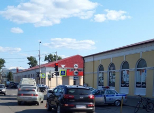 Тринадцатилетний мальчик попал под колеса  KIA Sportage в Моршанске