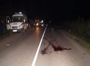 Тамбовчанин проехался по лежавшему на дороге мужчине