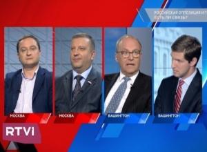 Тамбовский сенатор Алексей Кондратьев появился в эфире RTVI  Здесь и там «Российская оппозиция и Госдеп. Как чиновники отмывают деньги»