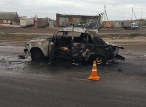 Жуткое ДТП: на тамбовской трассе заживо сгорел водитель