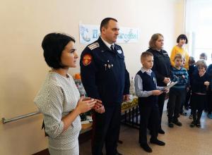 Четвероклассник из Моршанска помог  пожилой женщине, пострадавшей в ДТП