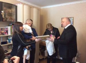 150 тысяч рублей собрал депутат Госдумы Александр Поляков на лечение маленького мичуринца