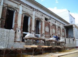 Культурные развалины украсят центр Тамбова и в новом году