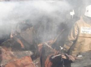 В посёлке Заря сгорели два вагончика