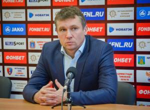 «Это даже не утка, а брехня!» Директор ФК «Тамбов» об информации о смене Андрея Талалаева