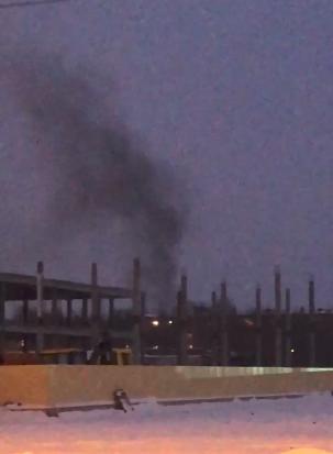 Столб черного дыма в стороне улицы Кавалерийской обеспокоил тамбовчан