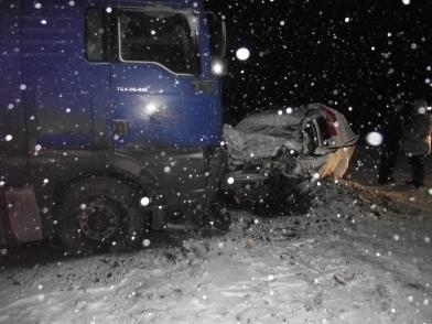 Две аварии на тамбовских дорогах с интервалом в один час унесли жизни пятерых человек