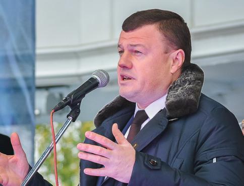 О квартирах для детей сирот Александр Никитин поднял вопрос на Совете Федерации