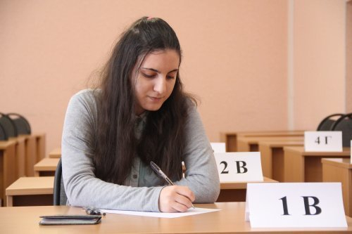 Началось! Тамбовские выпускники начали сдавать досрочный ЕГЭ