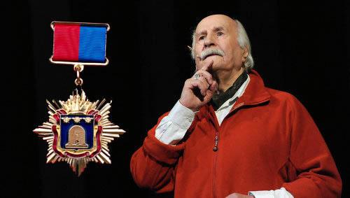 Владимир Зельдин не успел получить при жизни знак «Почетного гражданина Тамбовской области»