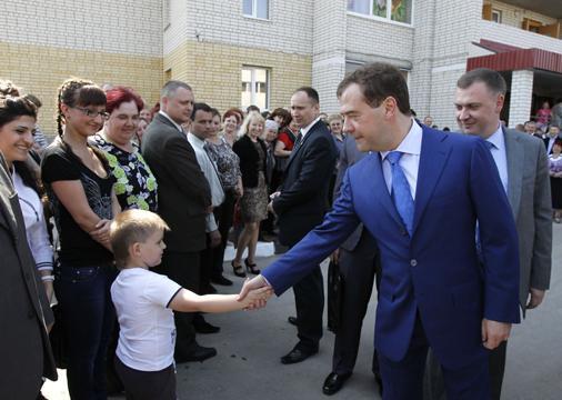 Д. Медведев едет вТамбовскую область