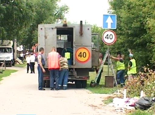 «Пусть нас сразу прикончат здесь, вот на этом повороте» - жители проезда Авиаторов перекрыли муниципальную дорогу