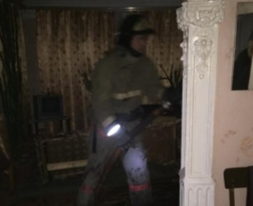 В огне пострадал дом жителей рабочего поселка Инжавино