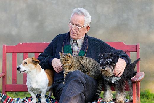 В доме-интернате в Токарёвском районе теперь проводят зоотерапию