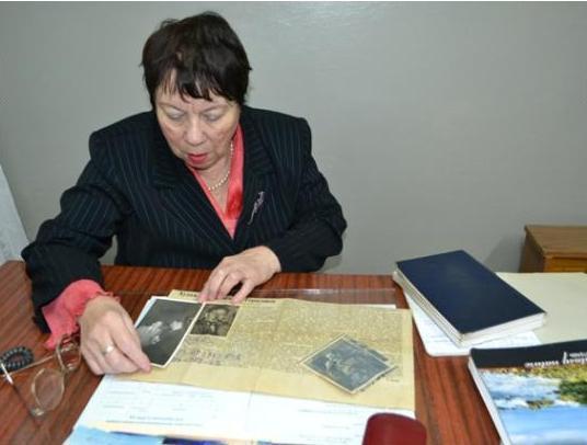 Уникальный архив подарила Мичуринску пенсионерка из Москвы