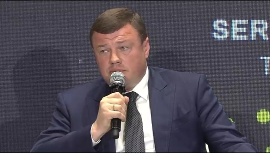 Александр Никитин представил область на международном форуме по цифровизации в Москве