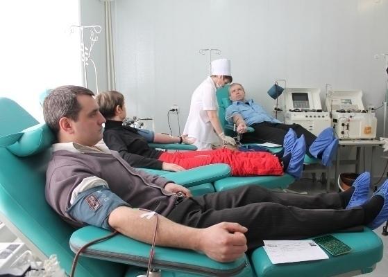 Тамбовская область признана одним из лидеров донорства крови