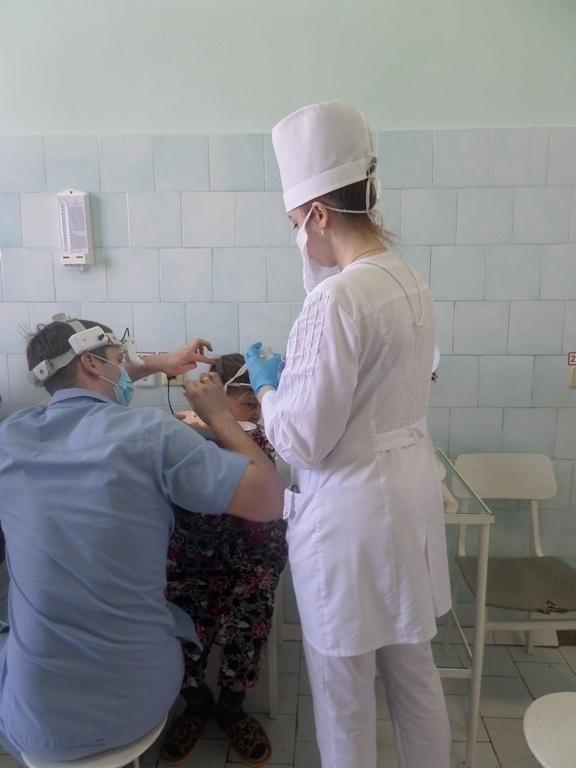 В третьей городской больнице Тамбова восстанавливают структуру уха и функции гортани