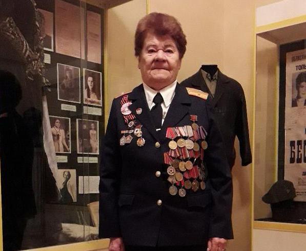 Участница ВОВ Мария Воеводина: «Поздравляю всех женщин с праздником. Будьте сильными, боритесь до конца»