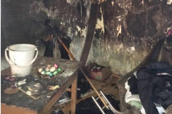 Дом сгорел, а яйца остались
