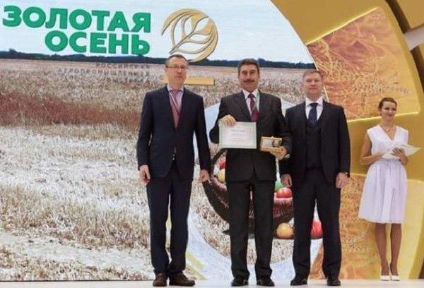 Экспозиция Тамбовской области стала лучшей на «Золотой осени-2016»
