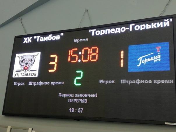 ХК «Тамбов» завершил домашние игры уверенной победой над фарм-клубом «Торпедо» из КХЛ