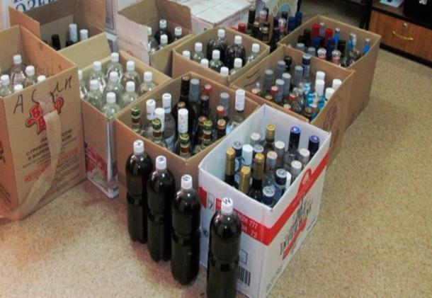 У тамбовского предпринимателя изъяли 23 тысячи бутылок контрафактного алкоголя
