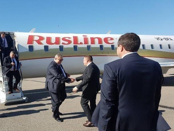Директор Фонда реформирования ЖКХ Константин Цицин прибыл в Тамбов
